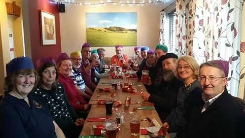 Hampreston QP day Christmas Lunch 2014